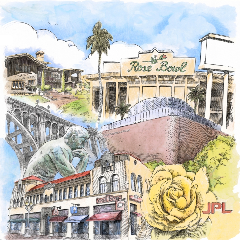 Pasadena panel, Glendale Plaza
