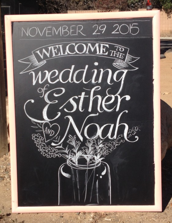 Esther and Noah Wedding